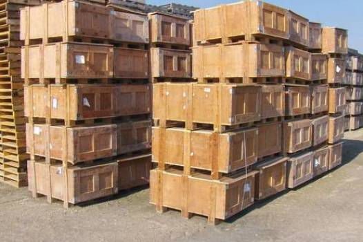 crates and boxes