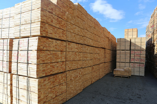 cut lumber