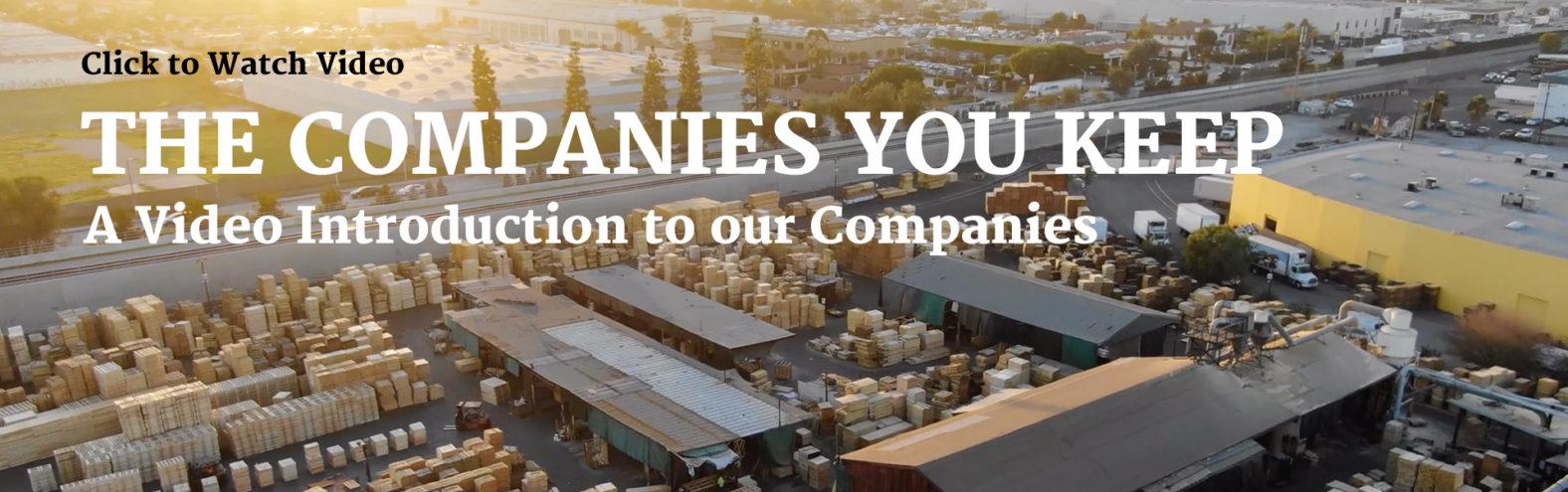 The Companies You Keep